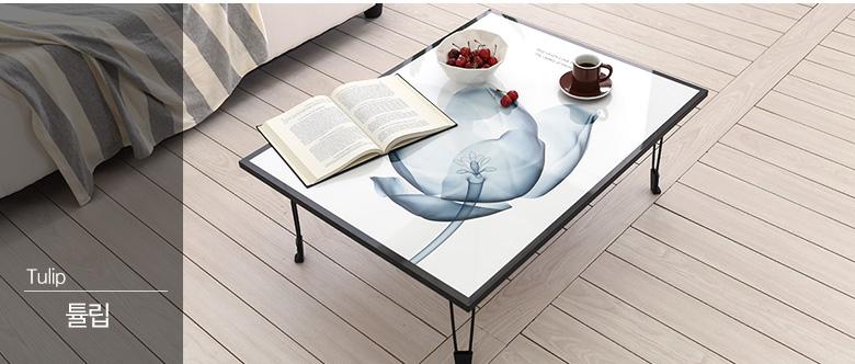샘 접이식 액자테이블 L 루나 달 - 라샘, 55,000원, 거실 테이블, 케릭터/액자테이블