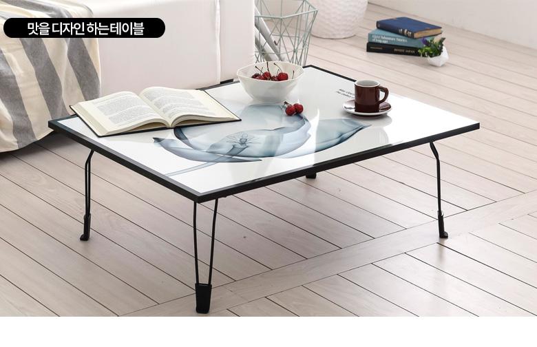 샘 액자테이블 S 튤립 - 라샘, 47,000원, 거실 테이블, 케릭터/액자테이블